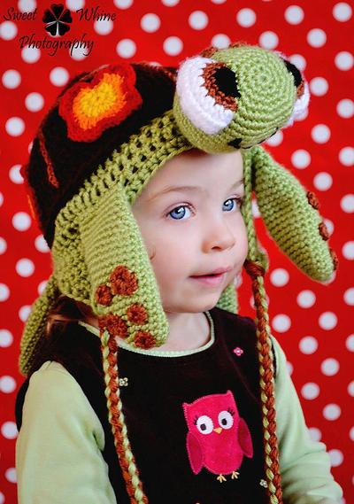 Sea Turtle Ear Flap Hat