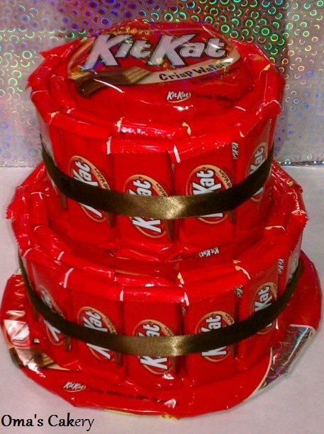 Oma S Cakery Kit Kat Candy Cake Online Store Powered