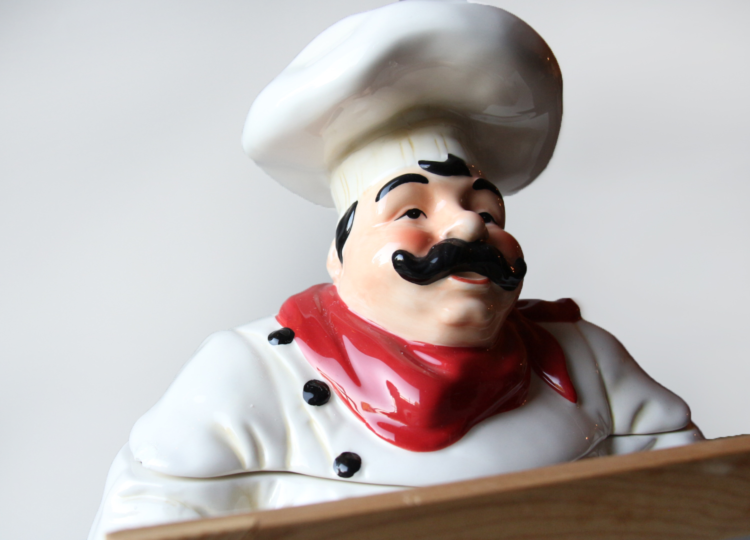 "Jolly Restaurant Chef"" Cookie Jar with Menu Board · Shop K+M ..."