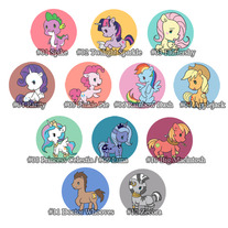 My Little Pony Button Set