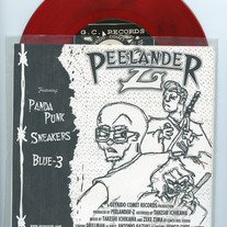 Peelander-Z / four letter words - split 7""