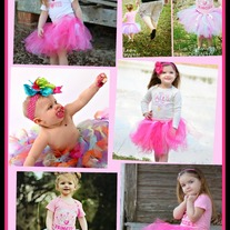 Sale Tutu Skirt Baby to Girls You choose size and colors FREE SHIPPING