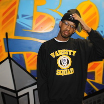 Black/Yellow Varsity Squad Collab Crewneck