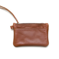 Parfleche Zip Wallet / Tan Leather
