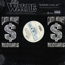 "Lil Wayne - Where You At (Single) 12"" Vinyl"