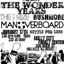 AUTOGRAPHED MAN OVERBOARD/THE WONDER YEARS SHOW POSTER