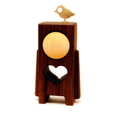 "Heartwoods - 3.5"" wood toys"