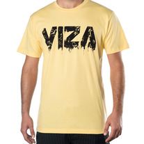Yellow 'Ink' Mens Shirt