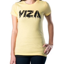 Yellow 'Ink' Girls Shirt
