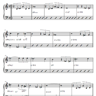 Twisted perception (lead sheet)