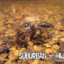 Steel Screw Fit Flesh Tunnel Plugs