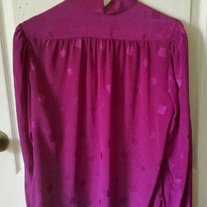 Grand Tier Fuchsia Blouse Sz 12