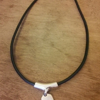 Lia Sophia Black Necklace