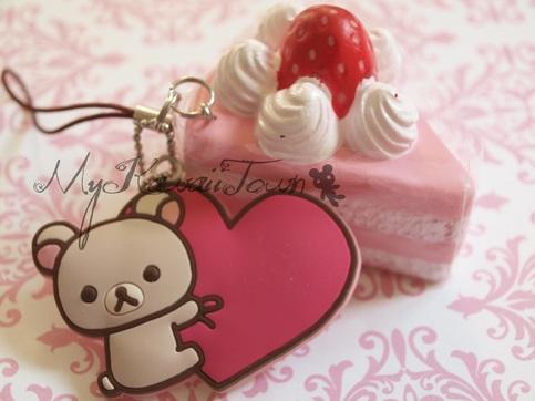 Rare Kawaii Squishy : RARE Korilakkuma Strawberry Cake on Storenvy