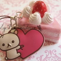 RARE Korilakkuma Strawberry Cake