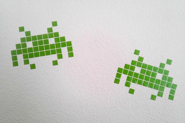Head Cooked | Pixel Alien - Wall Graphic | Online Store ...