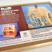 "Wooden Dollhouse Kit, ""Buttercup"" by Greenleaf Company"