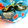 Vintage Adjustable Mustache Double Ring - Thumbnail 3