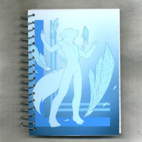Notebook S - Raven Wolf: Six Sources - Ice