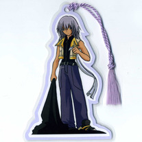 Bookmark - Kingdom Hearts II: Riku (Fanart)