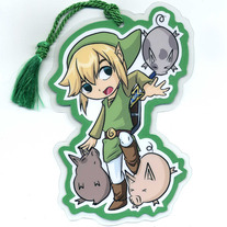 Bookmark - Super Smash Bros. BRAWL: Toon Link (Fanart)