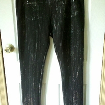 Like an Angel Black Legging Pants 2X