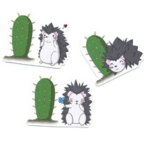 Mini Magnets - Prickly Love