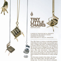 The SCOOP CHAIR - SILVER THICK CHAIN
