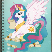 Notebook L - My Little Pony FiM: Princess Celestia (Fanart)