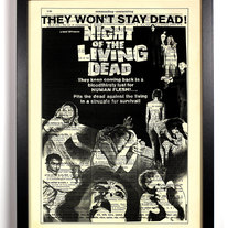 Image of Night of the Living Dead Retro Poster 8 x 10