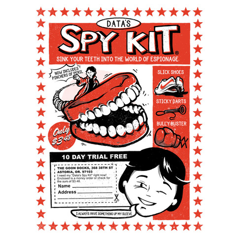 Data's Spy Kit