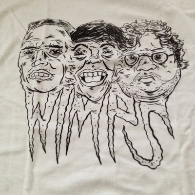 Wimps face melt shirt