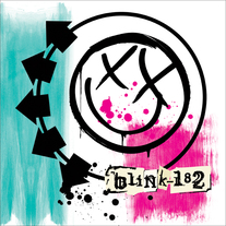 "BLINK-182 ""Self-Titled"" Limited Edition 2xLP half pink half green"