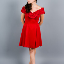 Red Red Rose Dress