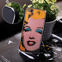 New Chic Fashion Icon Marilyn Monroe Apple iPhone 5 Hard Case Cover
