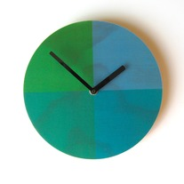 Objectify Quarters Wall Clock