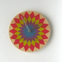 Objectify Bold Flower Wall Clock