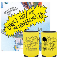"Direct Hit / The Haverchucks 7"" + BEER KOOZIE!"