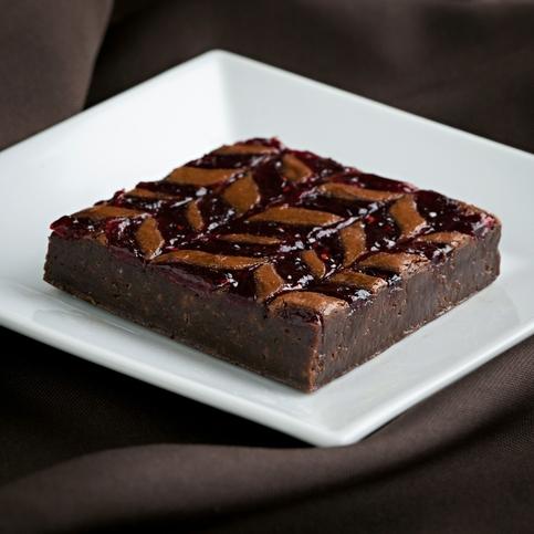 RASPBERRY CARAMEL FUDGE BROWNIE · Granny Cakes Gourmet Foods ...