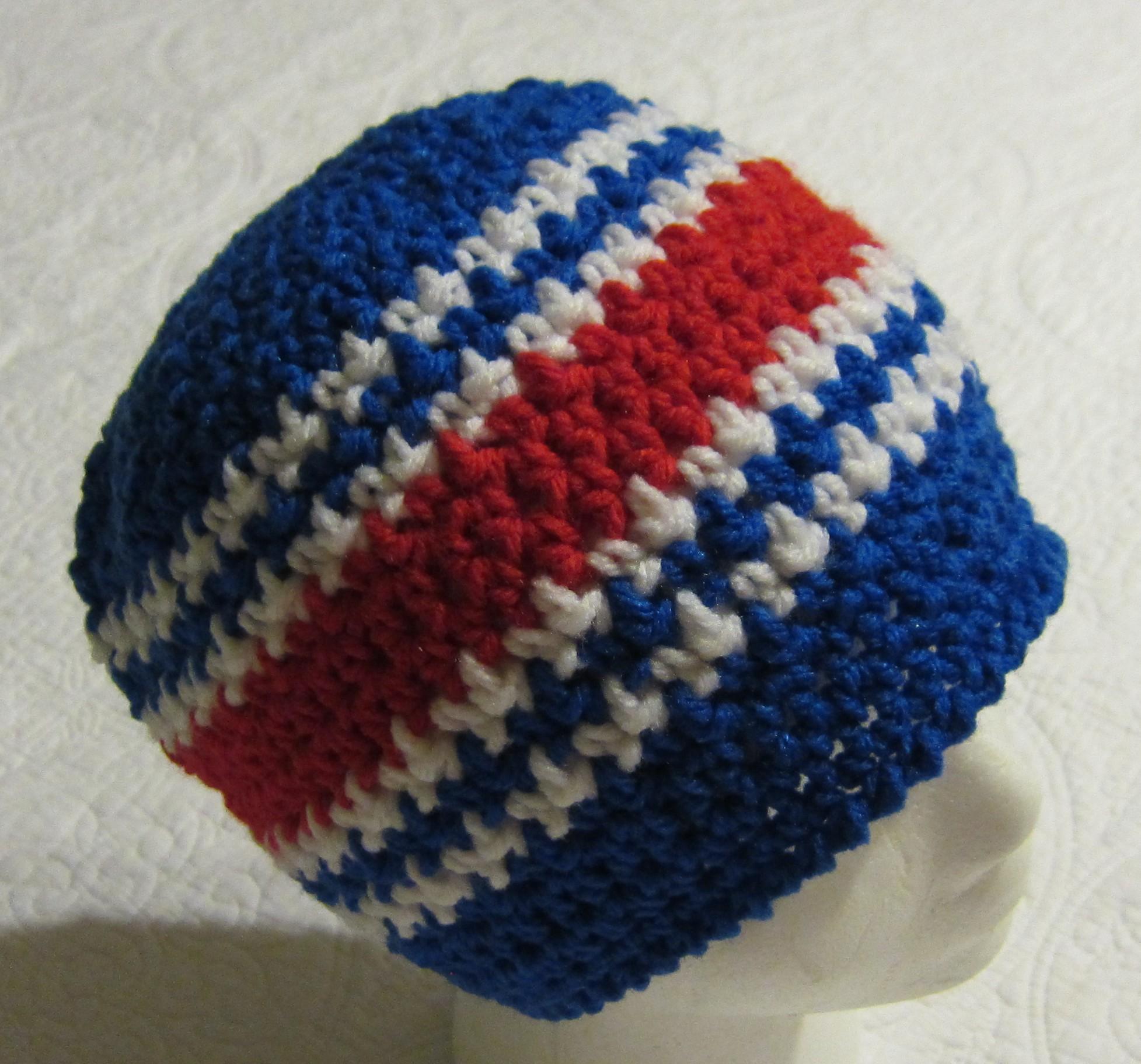 Crochet Sports NFL Inspired Beanie Buffalo Bills Adult Size !!!For ...