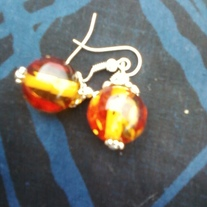 Amber Earrings Price reduced