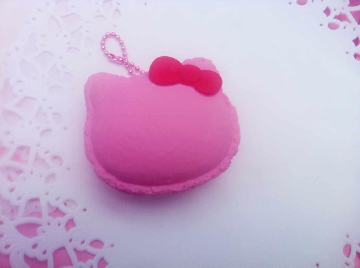 kawaii klover squishy RARE hello kitty macaron squishy licensed reproduced Online Store ...