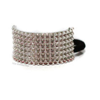 Spike Wrap Hair Accessories - Silver