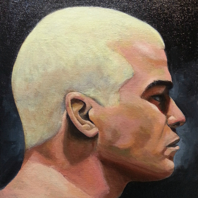 Painting of ufc fighter - tito ortiz