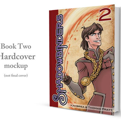 [pre-order] 'shadowbinders: book two' hardcover graphic novel