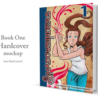 [pre-order] 'shadowbinders: book one' hardcover graphic novel