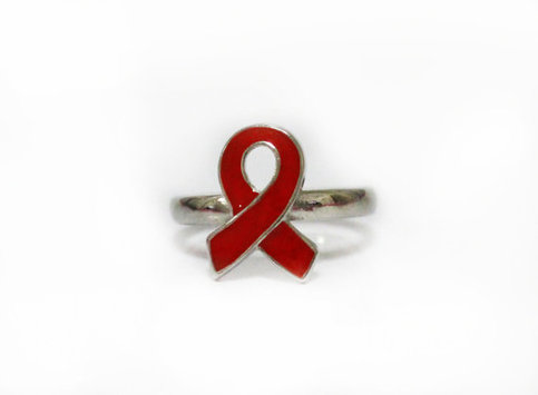 Ribbon Ring (Red)