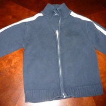 GAP KIDS ZIP SWEATER SIZE XS (4)