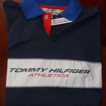 BOYS TOMMY HILFIGER LS SHIRT-NEW-SIZE M