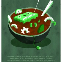 "Robot Soup Limited Edition 11""x17"" Poster"